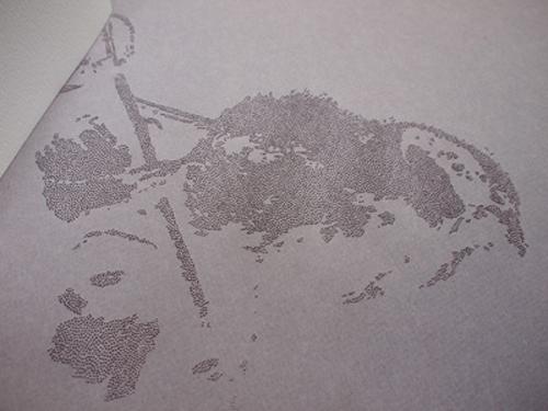 Le pavillon des encres oubliées (close-up)
